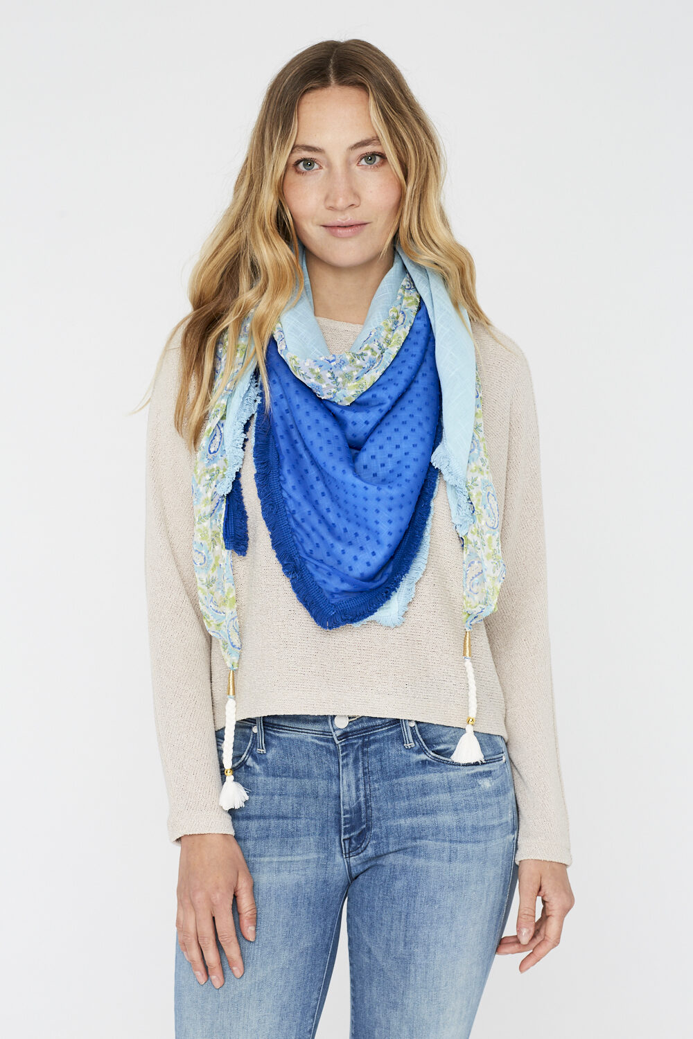Sjaal-Blue Dream-Spicy Scarves-voor 00025