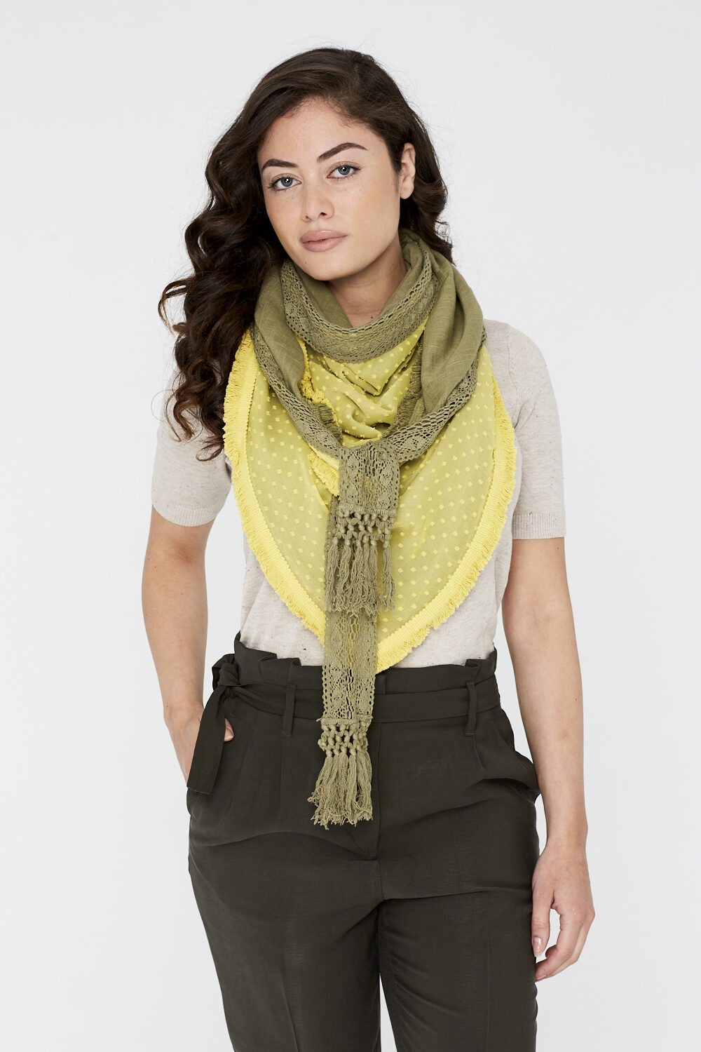 Sjaal-Lemon Grass-Spicy Scarves-achter 00001