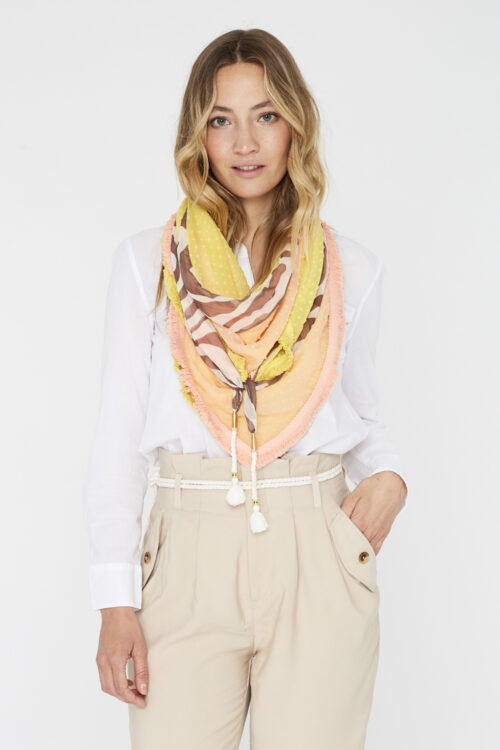 Sjaal-Lemonade-Spicy Scarves-voor 00008