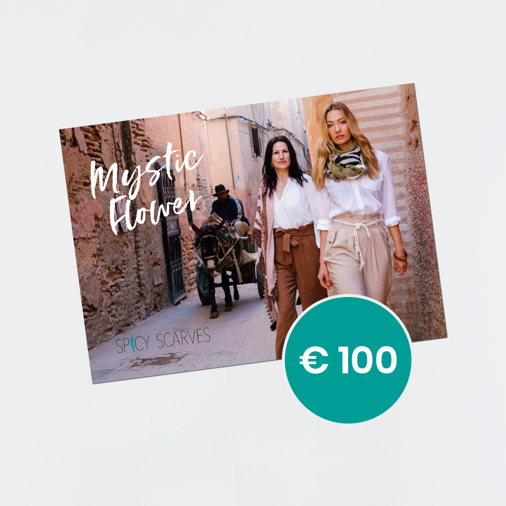 Spicy Scarves - Giftcard - 100 euro
