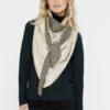 Sjaal-kunstleer-greige-Stone-voor